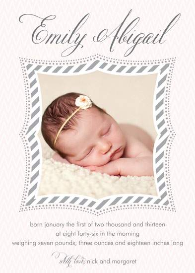 birth announcements - Joyfully Chic by Abby Barnett