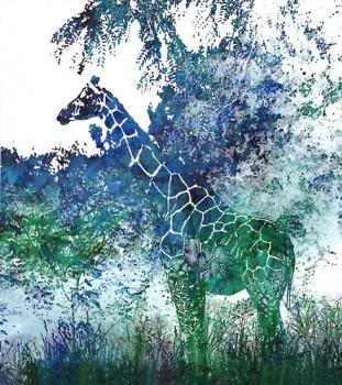 Camouflage Giraffe
