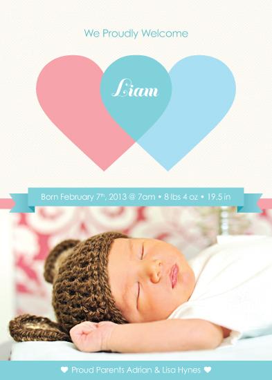 birth announcements - Hello Liam by Lina Kurucz