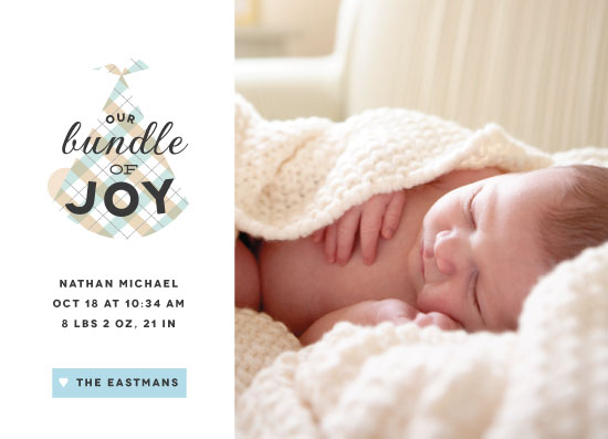 birth announcements - Bundle of Joy by Ellis