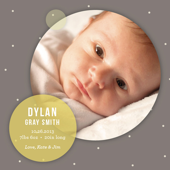 birth announcements - New Star by Sook Lee
