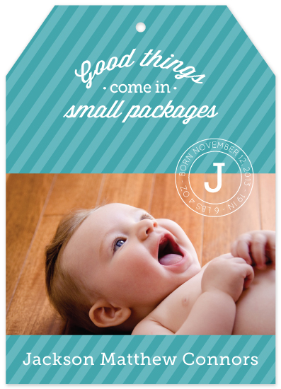 birth announcements - Good Things by Paperful Press