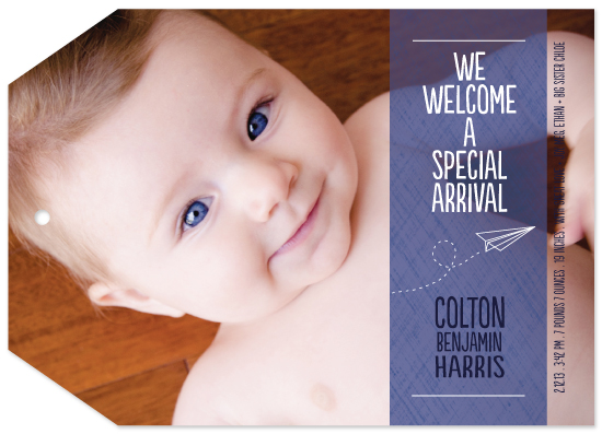 birth announcements - Special Arrival by Laura Mitzelfelt