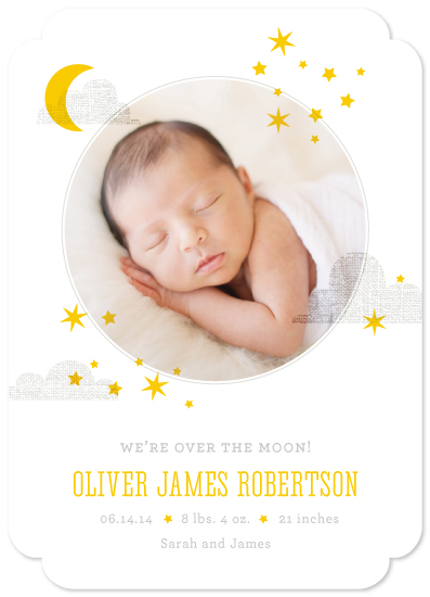 birth announcements - Little Dreamer by Oscar & Emma