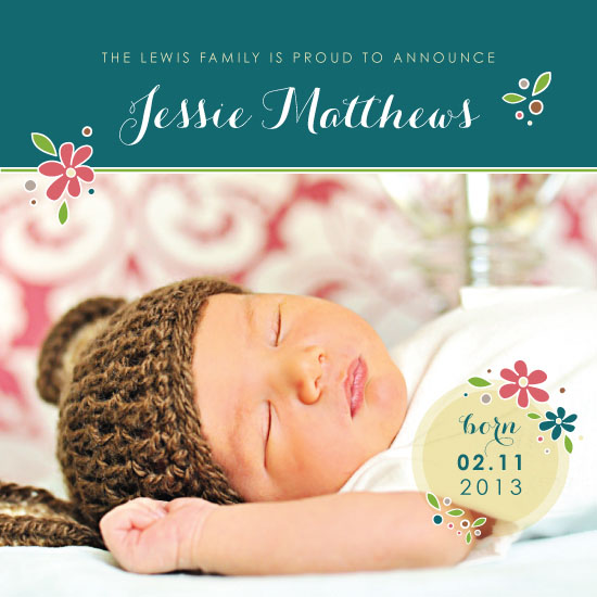 birth announcements - Baby Spring by Sara C.