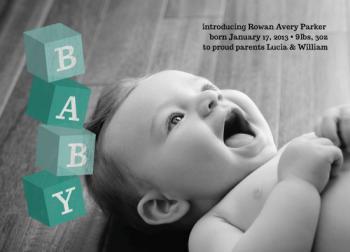 Flying Baby Blocks
