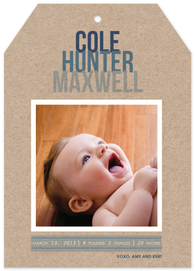 birth announcements - Tagged with Love by Kaydi Bishop
