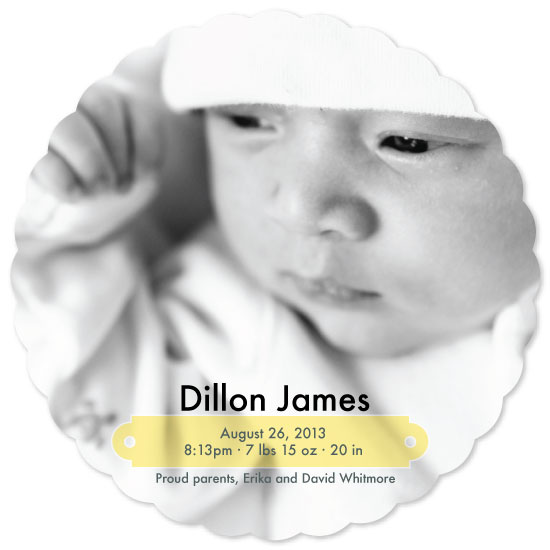 birth announcements - Baby's I.D. by amber g.