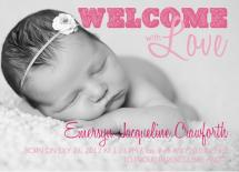 Welcome with Love by Elizabeth Silver