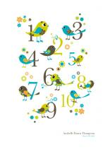 Whimsical Bird Count by Bloom Creative Co.