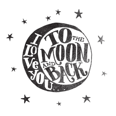 art prints - ...to the moon and back by Matthew Taylor Wilson