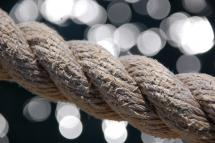 Bokeh Rope by Kim Keller
