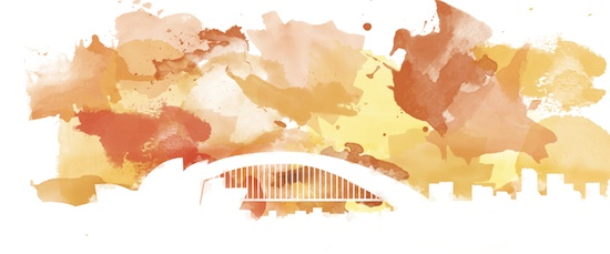 art prints - Paint the Town: Sydney by Design Artistree