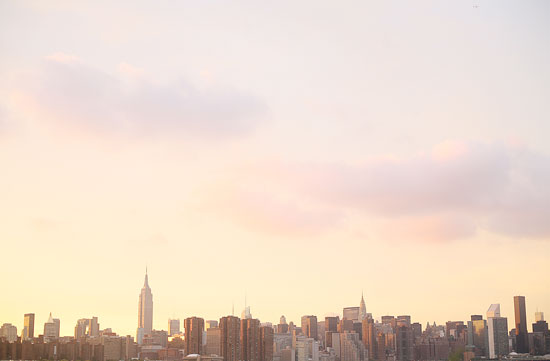 art prints - Manhattan Summer Sunset. by Kylie Whiting