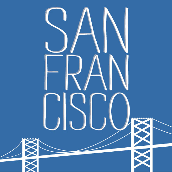 art prints - Bay Bridge: San Fransisco by Kim Keller