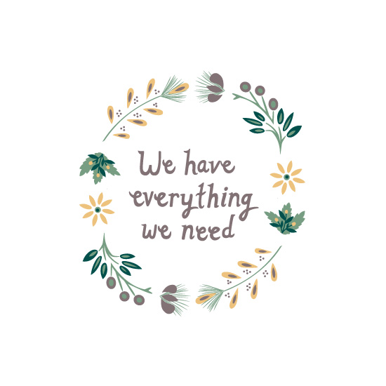 art prints - Everything we need by Olivia Raufman