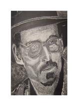 Johnny Depp Portrait by Perla Albarran