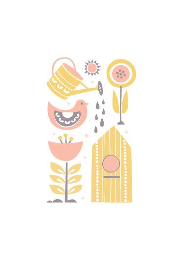 art prints - grow garden grow by Carolyn MacLaren