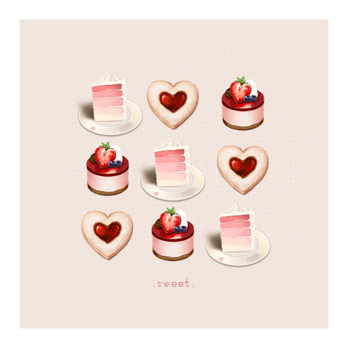 art prints - Sweets for the Heart by Diana Chen Kitthajaroenchai