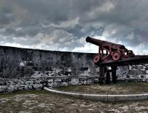 Old fort canon by Stacey Arsenault