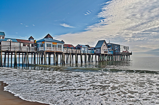 art prints - Fall at Old Orchard Beach by Stacey Arsenault