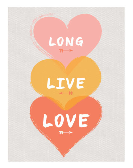 art prints - Long Live Love by Morgana