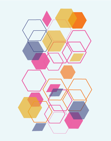art prints - Geometric Beehive by Morgana