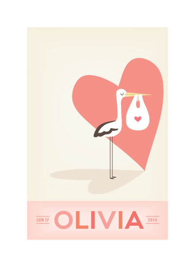 art prints - sweet delivery by Guess What Design Studio