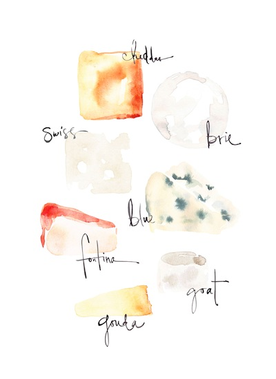 art prints - Glorious Cheese by Kelly Ventura