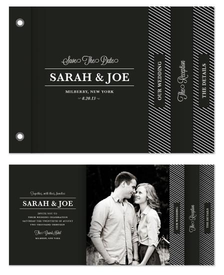 minibook cards - Modern Love by Antler and Antler