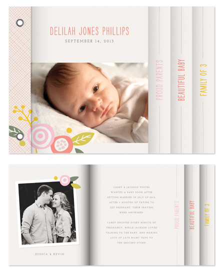 minibook cards - Delilah by Amber Barkley