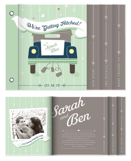 minibook cards - Getting Hitched by Stephanie Lynn