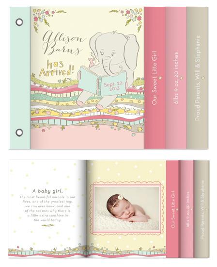 minibook cards - Sweet Little Girl by Kara Anne Paper