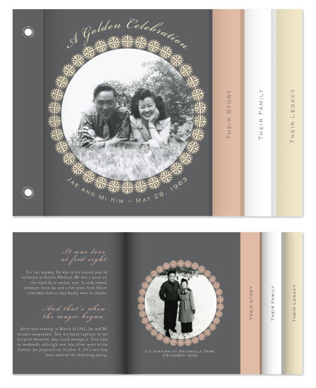 minibook cards - Filigree Celebration by Jen H