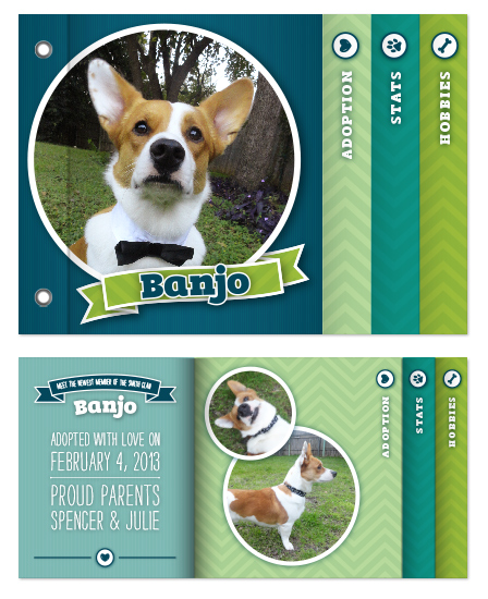 minibook cards - Pet Friendly by Charly Rhea