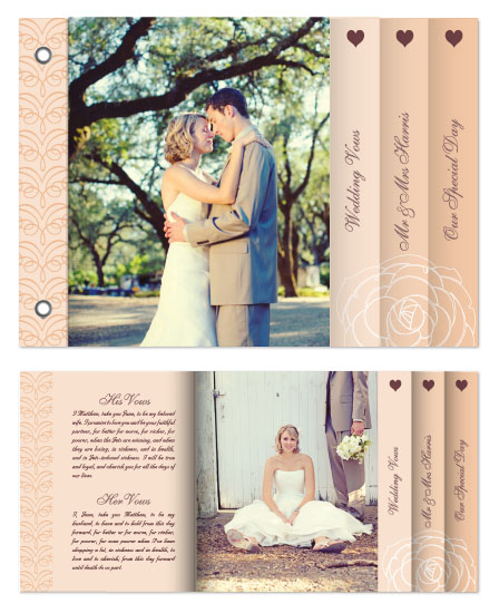 minibook cards - We Do Elegant Wedding by Katherine Tootell