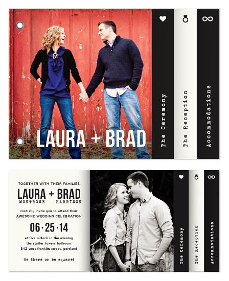 minibook cards - Modern Union by Hooray Creative
