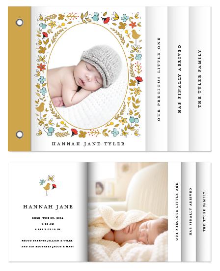 minibook cards - Storybook Garden by Monica Schafer