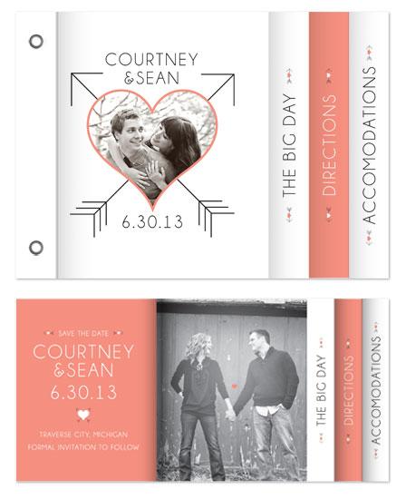 minibook cards - Cupid's Arrow by Catherine Sullivan