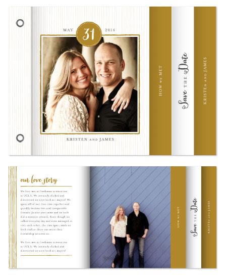 minibook cards - Line Frame by roxy