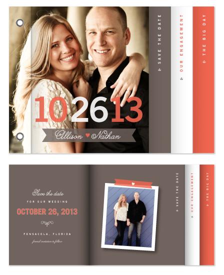 minibook cards - The Big Event by Amanda Larsen Design