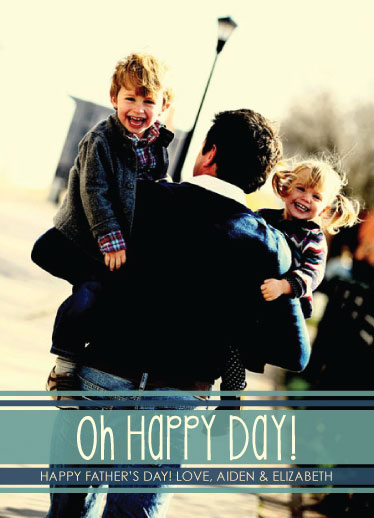 greeting card - Oh Happy Day! by Sarah Elizabeth