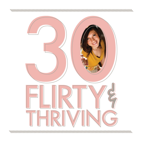 greeting card - Thirty & Flirty by Vanessa Wyler
