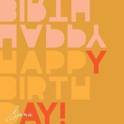 Happy Birthday Yay!