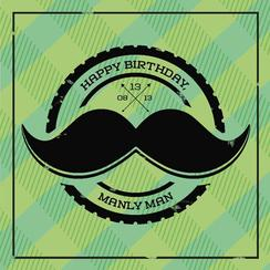 Happy Bday, Manly Man