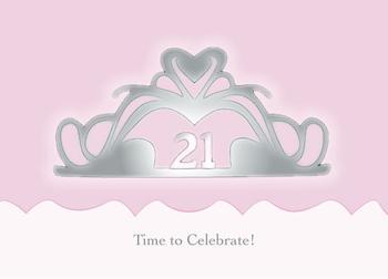 21st Birthday Girl