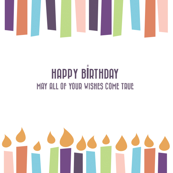 greeting card - Birthday Wishes by Whitney Maass