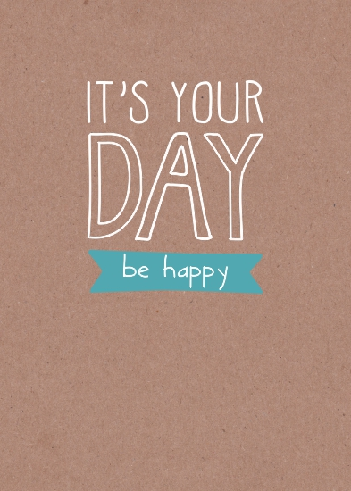greeting card - be happy by Tomi Ann Hill