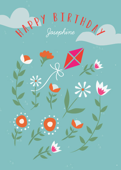 greeting card - Flying High by Monica Schafer