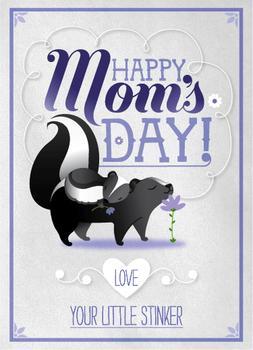 Skunk mom